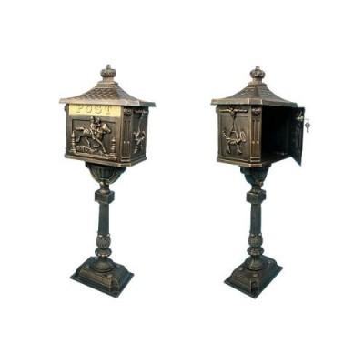Ozdobná poštová schránka - bronzová