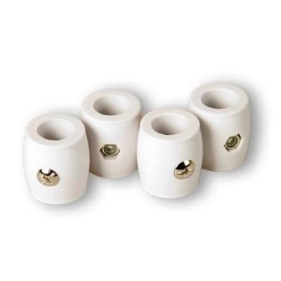 4 kusy dorazových krúžkov na tyč brankára, 15,9 mm