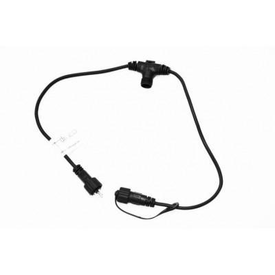 diLED predlžovací kábel s 2 prípojkami
