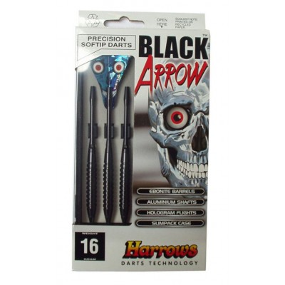 Šípky SOFT BLACK ARROW 16g