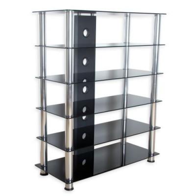 Sklenený HIFI stolík