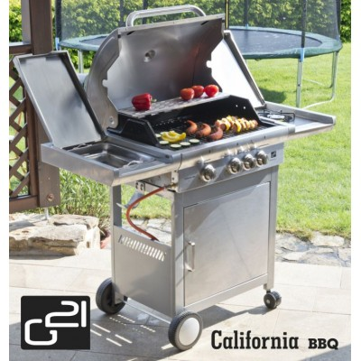 Plynový gril G21 California BBQ Premium line, 4 hořáky