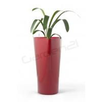 Samozavlažovací kvetináč G21 Trio červený 29,5cm