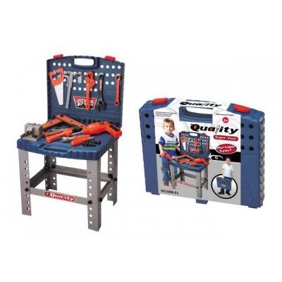 Detské náradie G21 kufrík a pracovný stôl