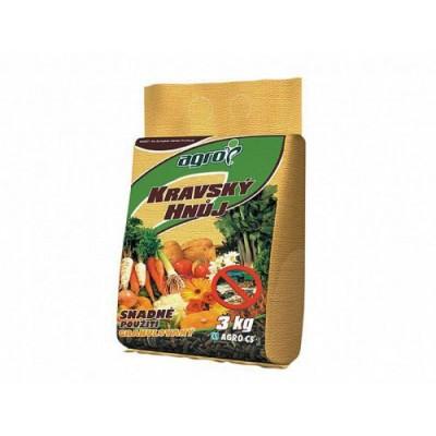 Hnojivo Agro  Pravý kravský hnůj 3 kg