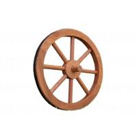 Ghana Garth Drevené koleso 35 cm - štýlová rustikálna dekorácia