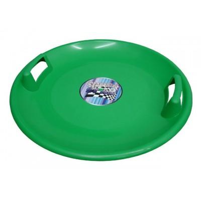 Superstar plastový tanier - zelený