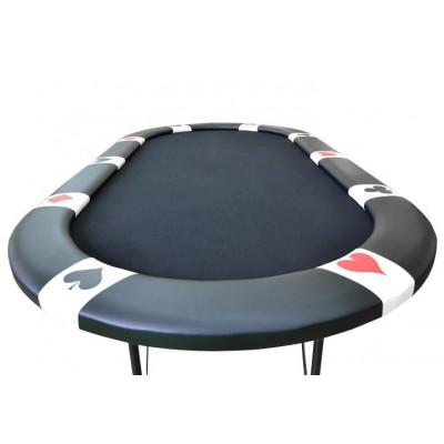 Pokerový stôl BLACK EDITION pre 10 ľudí