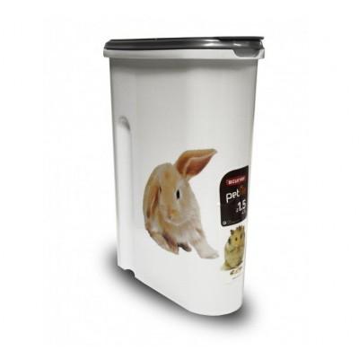 Dóza na krmivo 1,5 kg - králíček CURVER