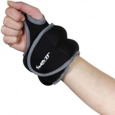 MOVIT neoprénová kondičná záťaž 2 kg, čierna