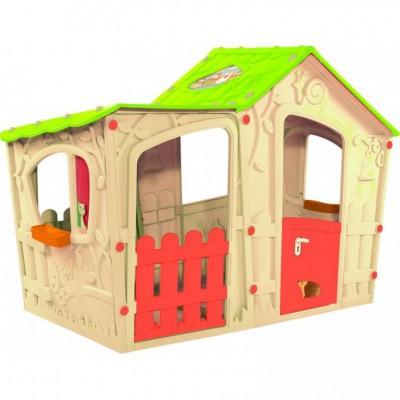 Hrací detský domček MAGIC VILLA PLAY HOUSE - béžový