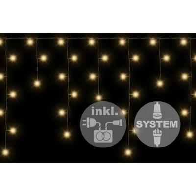 diLED sada - rozšíriteľný svetelný dážď 1,6 ms 80 LED diódami, systém LED XMAS