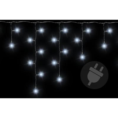 Vianočný svetelný dážď - 2,7 m, 72 LED, studeno biely