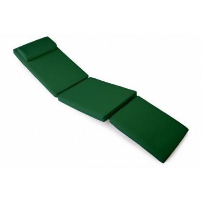 Polstrovanie na lehátko 188 cm - tmavozelená