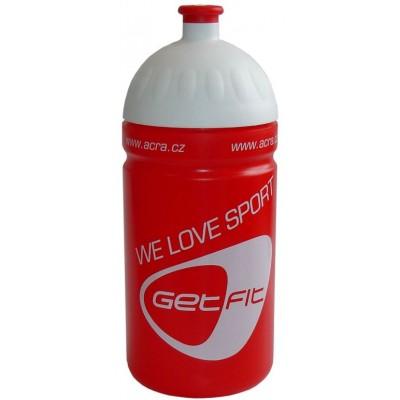 Fľaša na bicykel 0,5 l červená