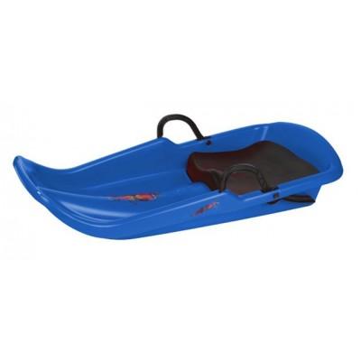 Cyclone plastový bob A2036 - modrý