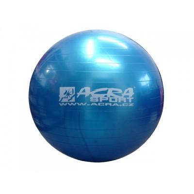 Gymnastická lopta 65 cm modrá