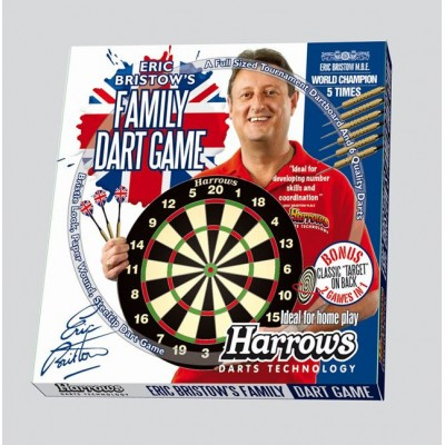 Sada terč a 6 ks šípok HARROWS Family Dart Game