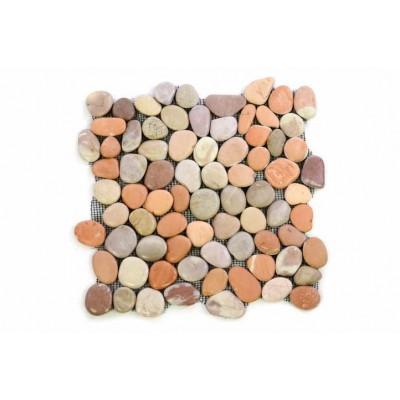 Mozaika Garth riečne okruhliaky - obklad 1 m2