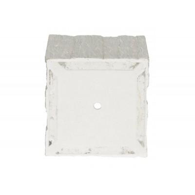 Kvetináč G21 Fossil Cube 36x36x34cm