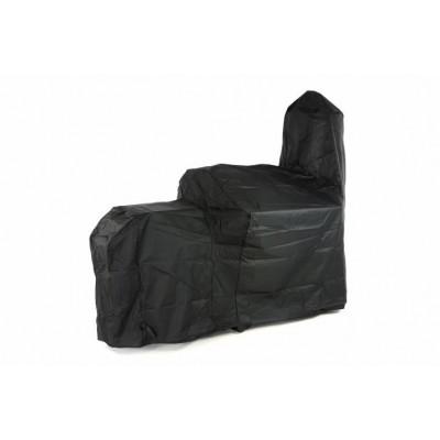 Ochranný obal na gril SMOKER - čierny 212 x 172 cm