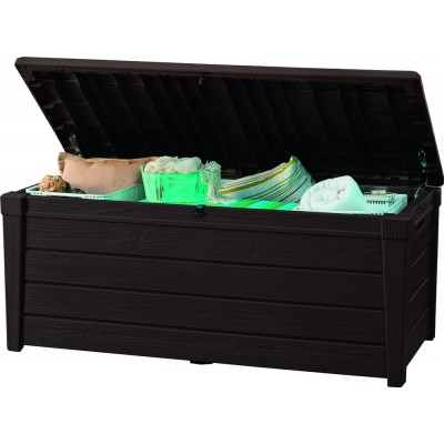 Záhradný úložný box BRIGHTWOOD 455 l – hnedý