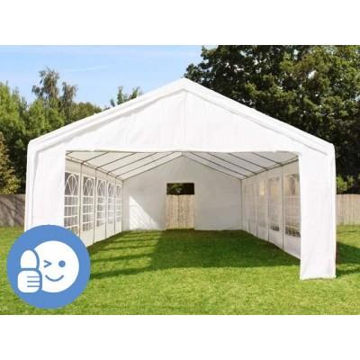 Záhradný párty stan CLASSIC 4 x 10 m - biela