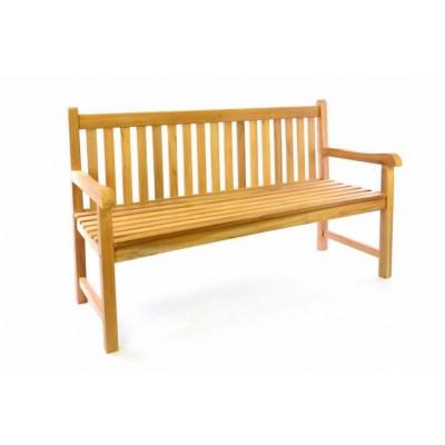 Záhradná drevená lavica DIVERO - 150 cm