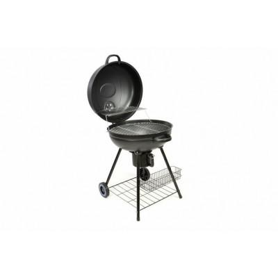 BBQ guľatý gril na drevené uhlie
