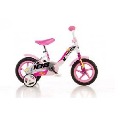 "Detský bicykel DINO Bikes 101GLN ružová 10"""