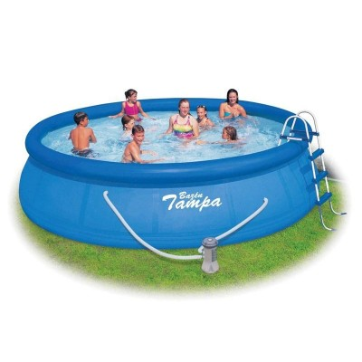 Bazén 4,57 x 1,22 m s kartušovou filtráciou a príslušenstvom