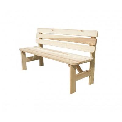 Dřevěná lavice VIKING - 200CM