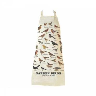 Kuchyňská zástěra s ptáky