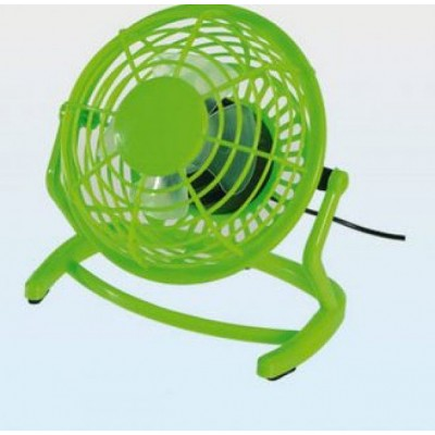 USB stolní větrák - zelený