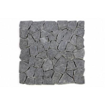 Mozaika Garth z andezitu - tmavo sivá obklady 1 m2