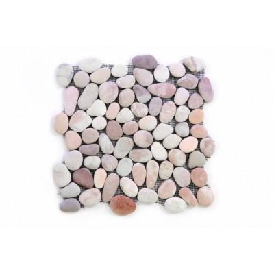 Mozaika Garth riečne okruhliaky - bežová obklady 1 ks