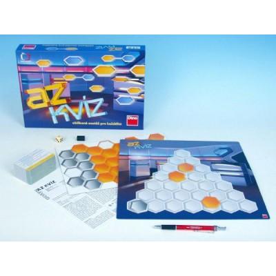 AZ kvíz společenská hra 13+ v krabici 33x23x5cm
