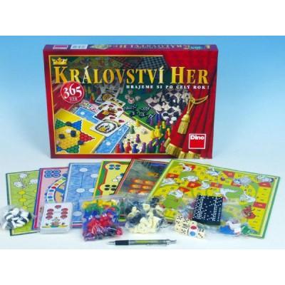Království 365 her - soubor her společenská hra v krabici 43x30x5cm