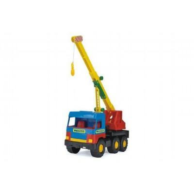 Auto middle Truck  jeřáb plast 36cm Wader v sáčku