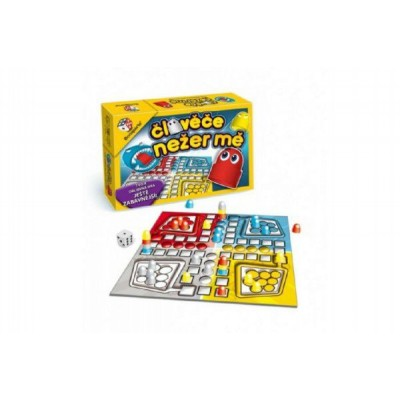 Člověče, nežer mě! společenská hra v krabici 28x19,5x6,5cm