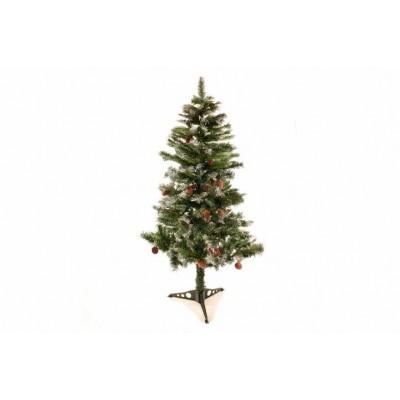 Umelý vianočný stromček so šiškami, 1,5 m