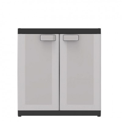 Plastová skriňa LOGICO LOW XL - 93 x 89 x 54 cm