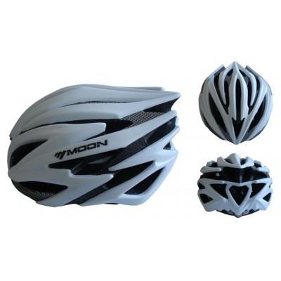 Cyklistická prilba veľkosť M (55-58 cm) - strieborná