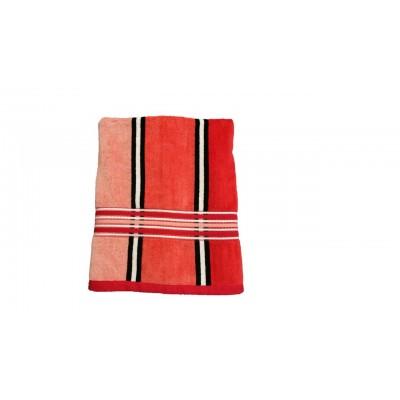 Osuška Rainbow - 70x140, červená
