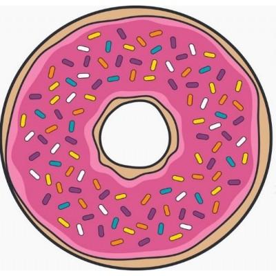 Osuška plážová guľatá - Donut