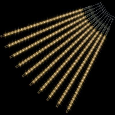 Vianočné osvetlenie - padajúci sneh - 480 LED teplá biela