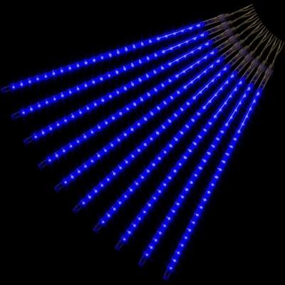 Vianočné osvetlenie - padajúci sneh - 240 LED modrá