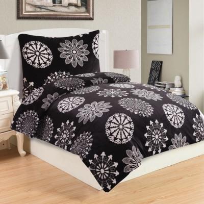 Mikroplyšové obliečky COCO BLACK