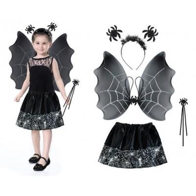 Kostým čarodejnica - čierna