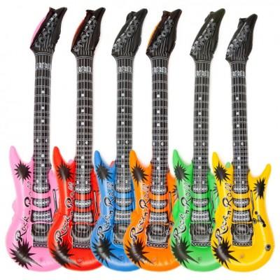 Nafukovacia gitara v Rock'n Roll štýle